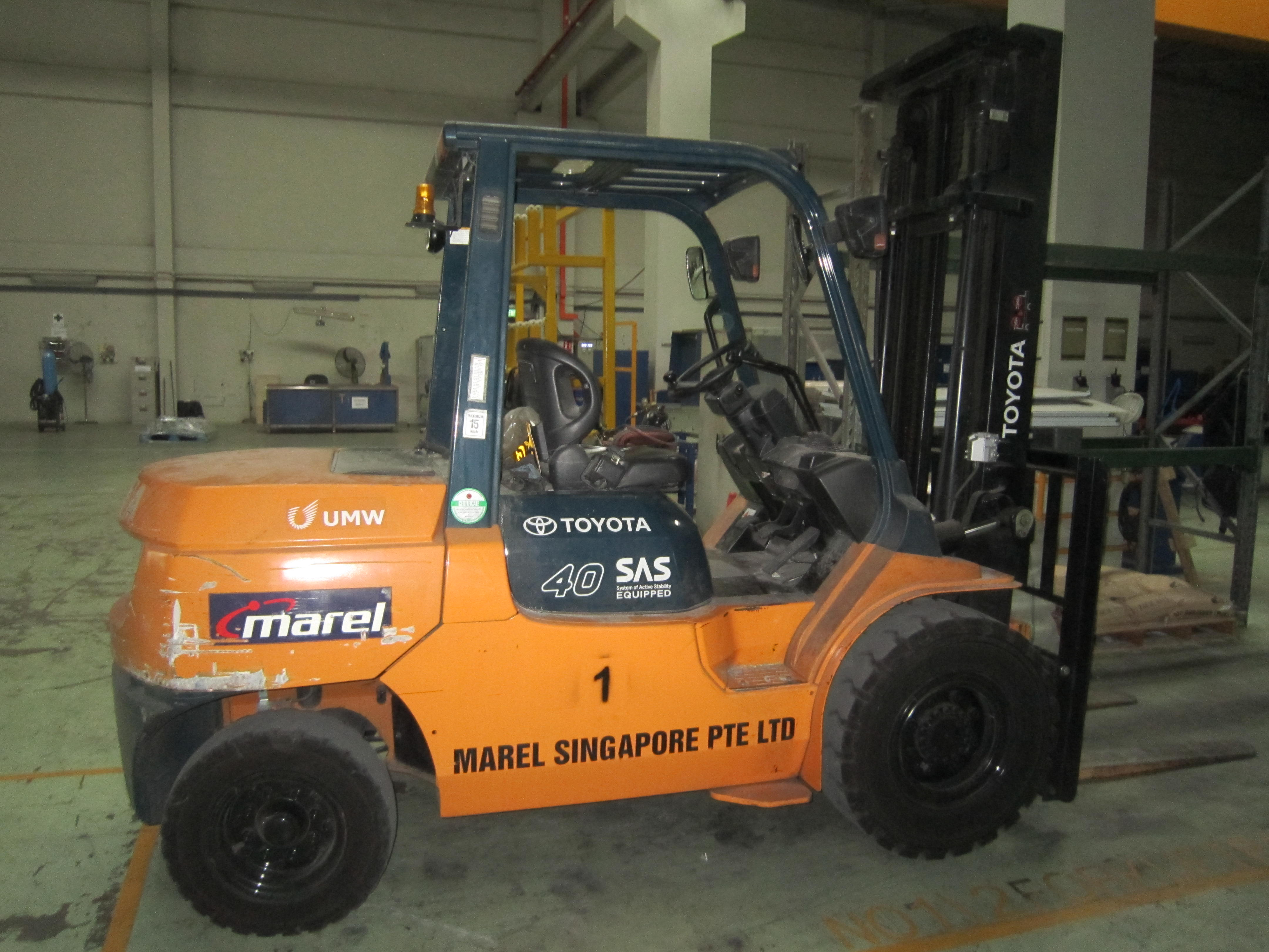 Marel Singapore Pte Ltd - UTB Industry Plant & Machinery